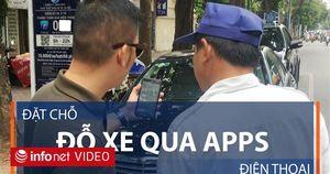 TP.HCM: Đặt chỗ đỗ xe qua ứng dụng điện thoại