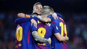 Messi im lặng, Barca thắng nhờ trọng tài