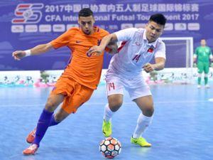 Việt Nam tạo 'địa chấn': Cản bước 'cơn lốc màu da cam', xếp trên Trung Quốc (Futsal)