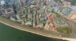 Toàn cảnh thủ đô Bình Nhưỡng nhìn từ video 360 độ