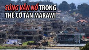 Quân đội Philippines dồn hỏa lực vào hang ổ cuối cùng của phiến quân tại Marawi