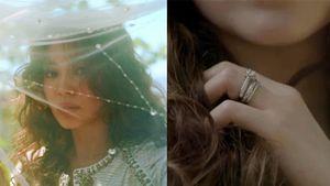 'Bà xã' Song Joong Ki đội khăn voan, khoe nhẫn kim cương ngón áp út tại Mỹ