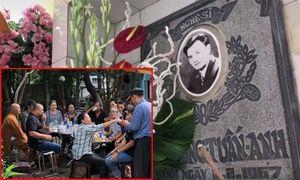 Nhiều nghệ sĩ ra thăm mộ Lê Công Tuấn Anh trước ngày giỗ