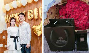 Chồng 'soái ca' bất ngờ dành tặng vợ viên kim cương giá hơn trăm triệu