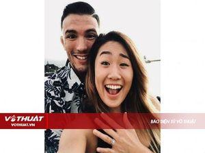 'Thiên thần MMA' Angela Lee đính hôn với võ sĩ UFC Bruno Pucci
