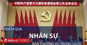 Dự báo nhân sự mới của Ban thường vụ Bộ chính trị Trung Quốc