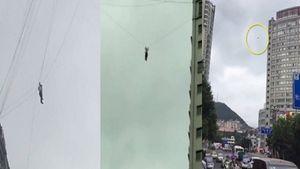 'Người nhện' mắc kẹt trên cáp viễn thông vì quỵt tiền khách sạn
