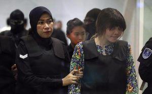 Đoàn Thị Hương tới sân bay tái hiện nghi án Kim Jong Nam