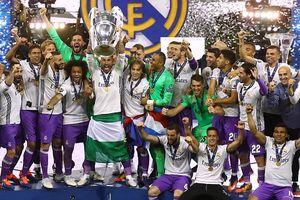 Real Madrid phá 'lời nguyền,' lên ngôi tại Champions League