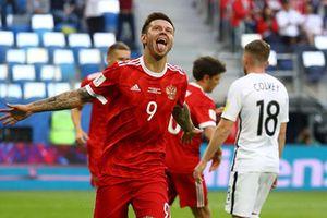 ĐT Nga 2-0 ĐT New Zealand (H2): Ghi bàn dễ dàng
