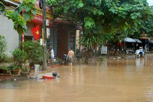 Yên Bái: Nhiều khu vực bị ngập cục bộ, một người bị thương