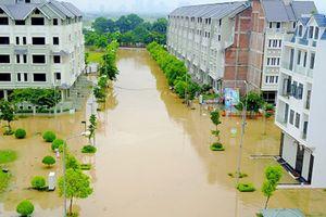 Khu đô thị Geleximco cứ mưa là ngập, dân muốn bán nhà không xong