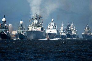 Hải quân Nga phô trương sức mạnh