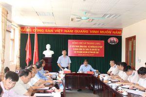 Bộ trưởng Lê Thành Long làm việc tại Bắc Kạn