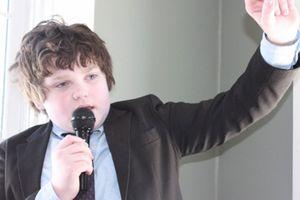 Cậu bé tuyên bố làm ứng viên thống đốc bang ở Mỹ tuổi 13