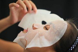 Những sai lầm khi dùng mặt nạ giấy thường xuyên