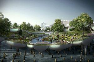 Kinh ngạc dự án công viên nổi gần 6 nghìn tỷ ở New York