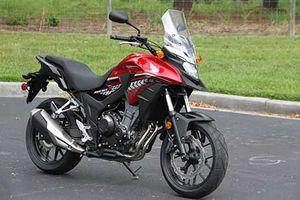 Cận cảnh môtô Honda CB500X 2018 giá từ 177 triệu đồng