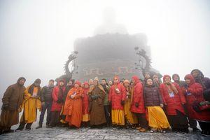 Khánh thành, khai quang Đại tượng Phật A Di Đà và quần thể công trình văn hóa tâm linh trên đỉnh Fansipan