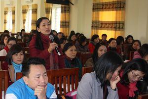 Phú Thọ tập huấn nghiệp vụ cho giáo viên theo bộ đề thi tham khảo