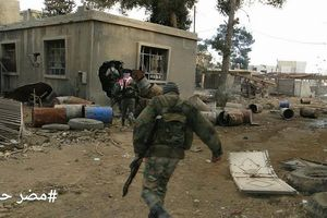 Quân Syria đánh thốc vào tử địa Đông Ghouta, diệt thủ lĩnh phiến quân