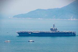 Ngày mai, tàu sân bay USS Carl Vinson tạm biệt Đà Nẵng