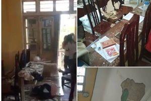 Hà Nội: Vữa trần nhà rơi trong giờ học, 3 học sinh bị thương