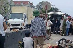 Nghệ An: Xe khách đâm liên tiếp 2 xe máy khiến 3 người tử vong