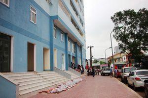 Nghệ An di dời dân khỏi chung cư 18 tầng chưa có hệ thống PCCC