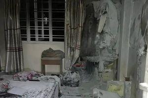 Cháy nhà trong đêm ở Quảng Ninh khiến 4 người trong gia đình nhập viện