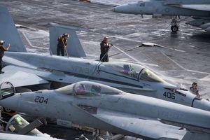 Sau chuyến thăm Đà Nẵng, phi đội F-18C tàu Carl Vinson được loại biên