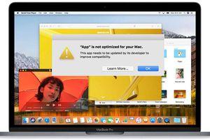 Ứng dụng macOS 32 bit sẽ bị Apple khai tử?