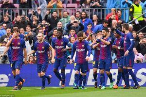 Messi im lặng, Barcelona vẫn lập kỉ lục bất bại