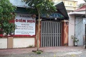 Thái Bình: Bắt tạm giam 5 nghi can trong vụ xô xát tại quán karaoke