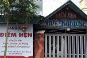 Bắt 5 đối tượng gây ra vụ giết người ở quán karaoke ở Thái Bình