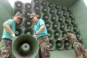 Hàn Quốc tháo loa tuyên truyền chống Triều Tiên ở biên giới