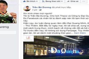 Xuất hiện nhiều Fanpage giả mạo Chủ tịch HĐQT Thaco
