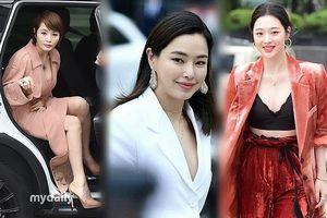 'Chị đại' Kim Hye Soo đọ sắc Hoa hậu Honey Lee và thiên thần 9x Sulli