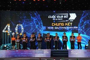 Trường Đại học Công nghệ giành ngôi vô địch thi lập trình xe tự hành