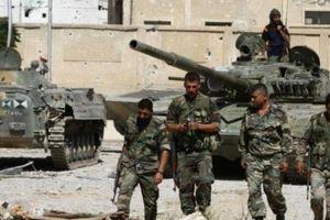 Clip: Quân đội Syria phát hiện kho vũ khí và đường hầm lớn của phiến quân ở Nam Damascus