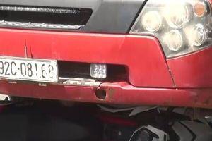 Nam thanh niên tử vong thương tâm trong gầm xe container