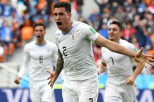 Bộ đôi Cavani - Suarez vô duyên, Uruguay thắng nhọc Ai Cập