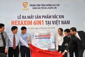 Vắc xin Hexaxim '6 trong 1' mới của Pháp đã chính thức có mặt tại Việt Nam
