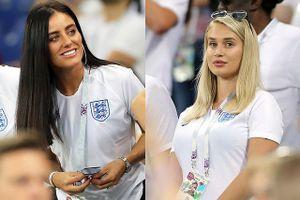Dàn kiều nữ Anh 'đại náo' khán đài World Cup 2018