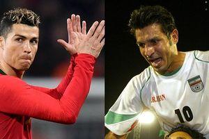 Top chân sút vĩ đại nhất ĐTQG: Ronaldo đứng sau huyền thoại Iran