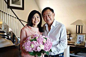 Ông Thaksin xác nhận bà Yingluck được Anh cấp visa 10 năm