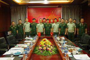 Đồn Biên phòng Bát Xát tăng cường công tác phối hợp với các đơn vị Biên phòng Trung Quốc