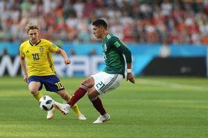 Trực tiếp Mexico vs Thụy Điển, Link xem World Cup 2018 hôm nay