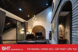 Kiến trúc độc đáo của ngôi nhà mái dốc ở Đà Nẵng