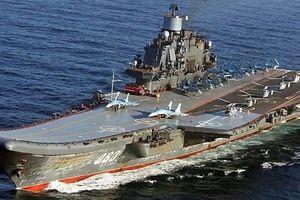 Nga phát triển bệ phóng máy bay trên mẫu hạm hàng không